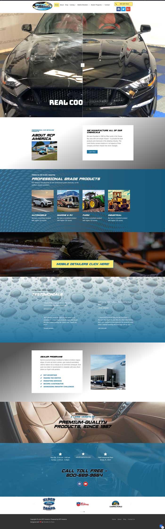 RCP America Website